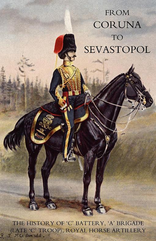 Royal Horse Artillery collar badge